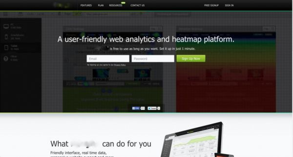 B2B Case Study Original Homepage